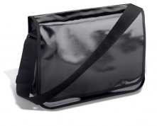 Schultertasche REFLECTS-EDE BLACK