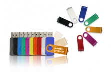 Alu Swing 2 GB, USB-Stick