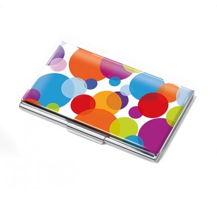 Troika Visitenkartenetui Colour Bubbles